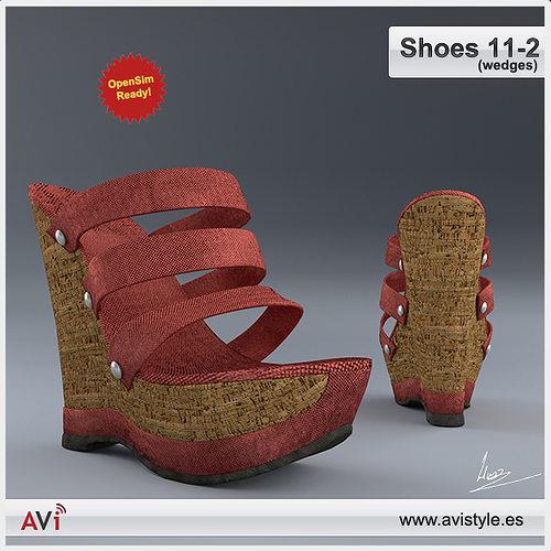 Shoe 11-2 wedges