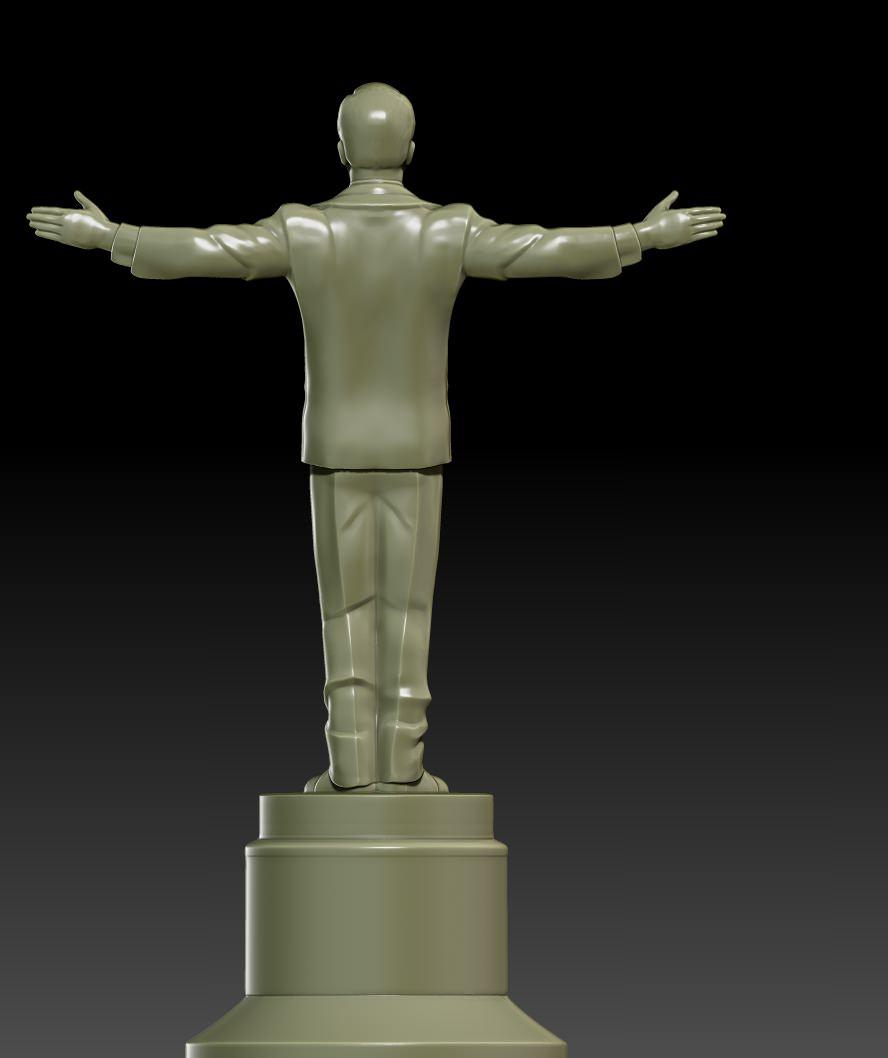 Leonardo Award Figurine Free 3d Model 3d Printable Obj Stl