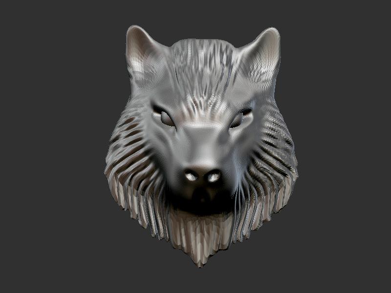 Best Buy Military Discount >> 3D printable model Wolf Head | CGTrader