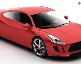 Generic Sports Car 3D
