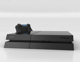Sony PlayStation 4 3D model