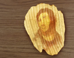 3D printable model Potato Jesus Potato Chip