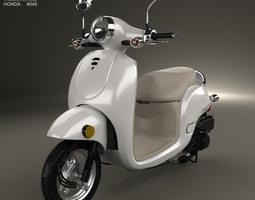 Honda Metropolitan CHF50 2013 3D Model
