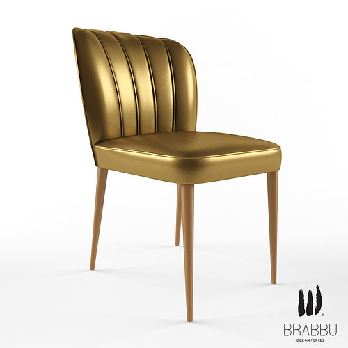 brabbu dalyan dining chair 3d model max 1