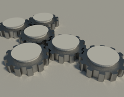 3D Some Gears