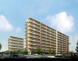 3D Posh Building with Architectural Design