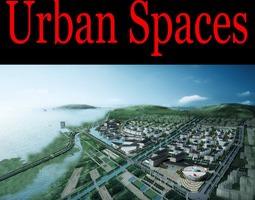 3d urban designed aristocratic town