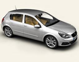 3d generic car compact class
