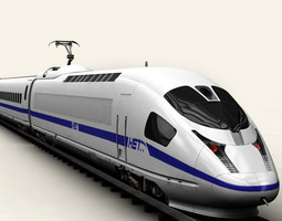 ice Generic High Speed Train 3D