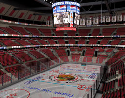 Ice Hockey Arena 3D