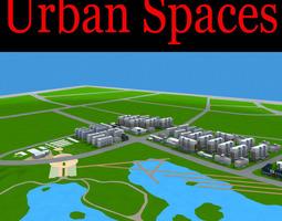 3d model exotic urban city design