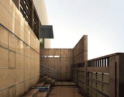 3D model Commercial Space Design