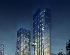 3D Modern Skyscraper Designs