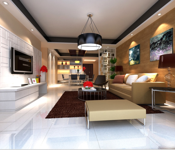 high end living rooms high end living room with eminent canvas 3d model max 15976