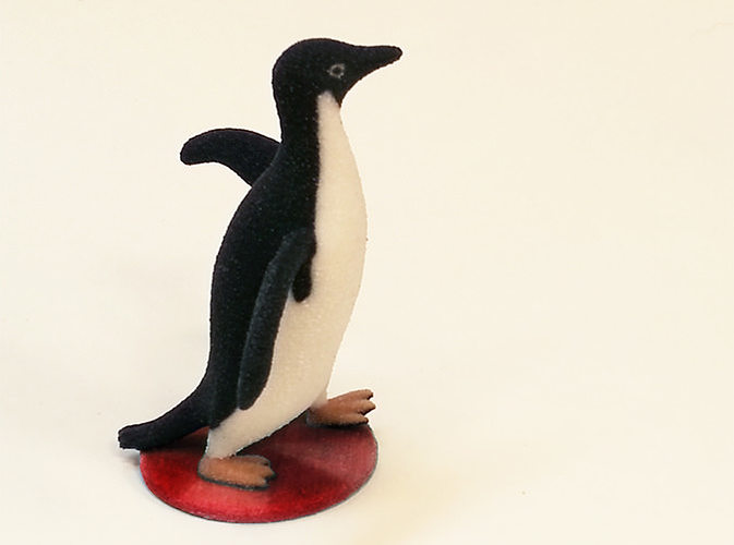 socially awesome penguin 3d model wrl wrz 1