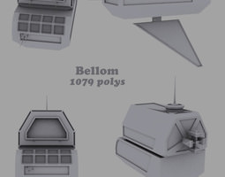 3D Bellom personal space station