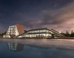 Waterfront Buildings 745 3D Models