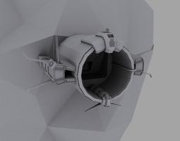 Tube station 3D model