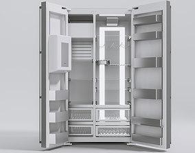 3D model Gaggenau Vario fridge-freezer 2-doors