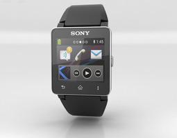 Sony Smartwatch 2 3D asset