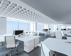 Office Interior 02 3D asset