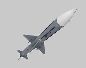 3D asset missile 1