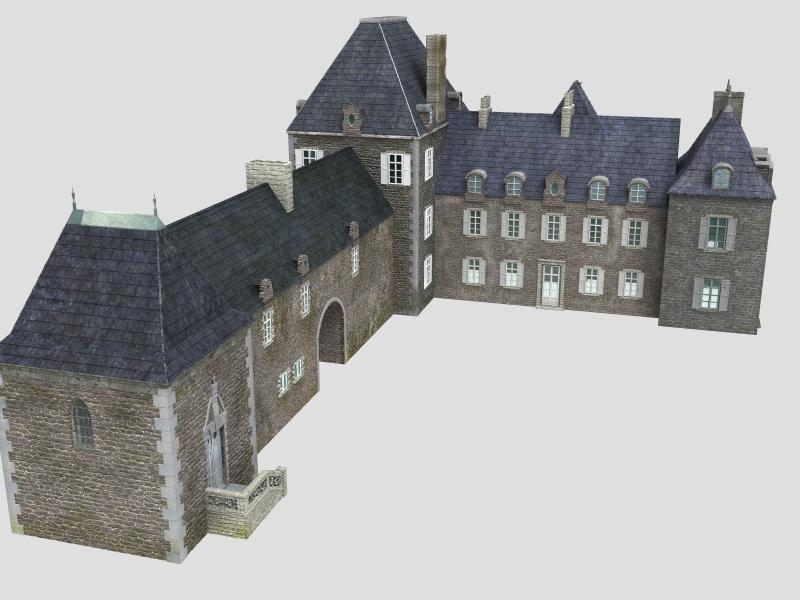 French XVIIIth century manor