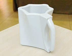 Stylish mug design concept CAD model