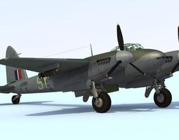 3D model De Havilland DH98 Mosquito F B MkVI