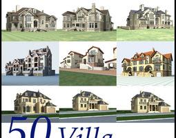 3D model Villa Collection 50 items Vol5
