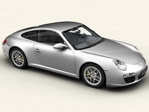 porsche 911 carrera 4s 3d model max obj mtl 3ds c4d lwo lw lws ma mb 1
