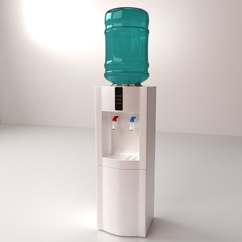 3d Model Water Dispenser Cgtrader