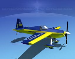 extra flugzeugbau ea300s v06 3d rigged