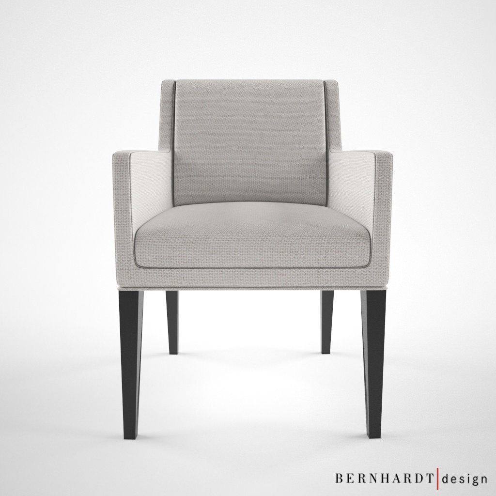 Bernhardt design claris chair 3d model max for Furniture 3d design