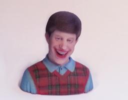 Bad Luck Brian 3D print model