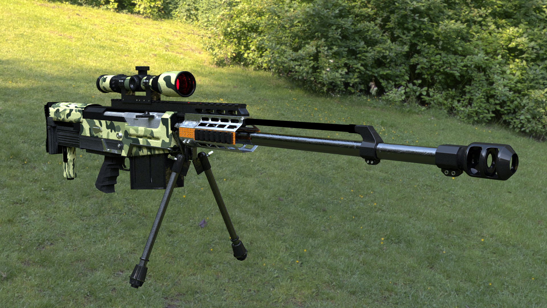 Accuracy International AS50 sniper rifle price — Görüntüler ve resimler