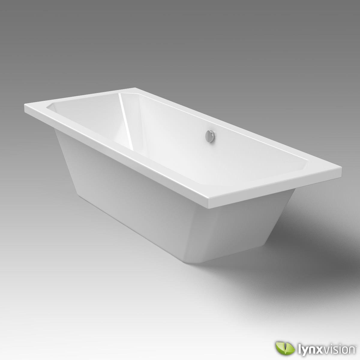 3D model Duravit Bathtub 1930 Series | CGTrader
