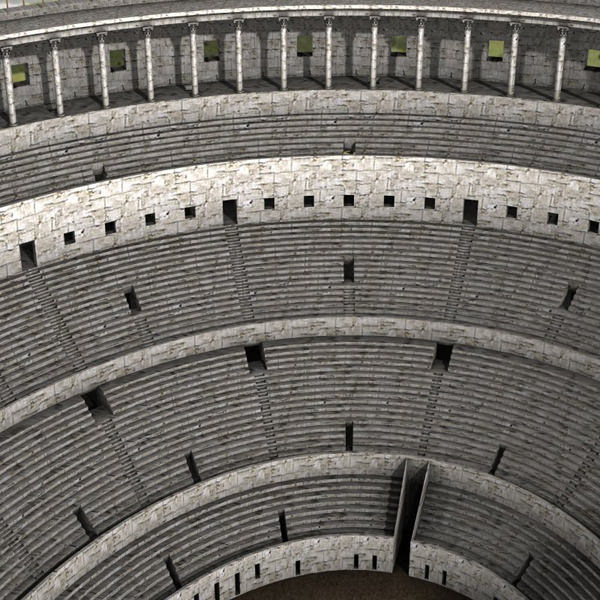 Colosseum for 3d studio max 3d model max for 3d studio max models