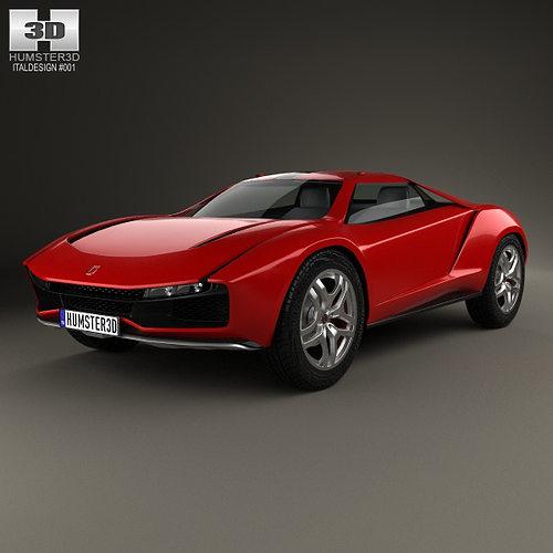 Italdesign Giugiaro Parcour 2013 3d Model Cgtrader