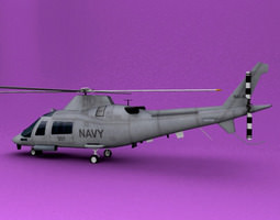 3D model Agusta A109