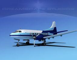 3D model Martin 202 Private