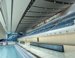 Grand Swimming Pool 3D model