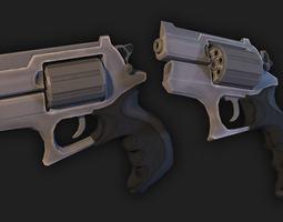 3d asset revolver VR / AR ready