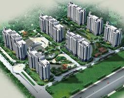 3D model 2004-09-01 li huan zhu zhai