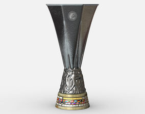UEFA Europa League Cup Trophy 3D