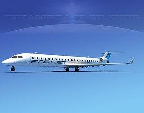 Bombardier CRJ900 Fast Jet 3D