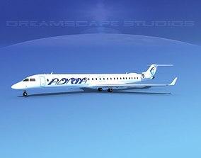 3D model Bombardier CRJ1000 Adria
