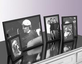 3D Metallic Photo Frames