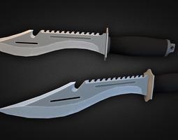 3D model Combat Knife