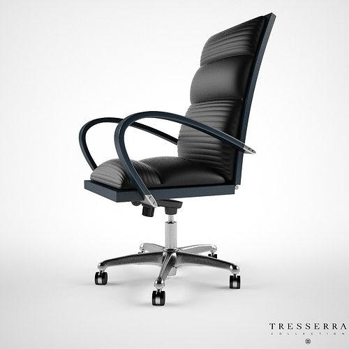 Treserra Casablanca Desk Chair 3d Model Cgtrader